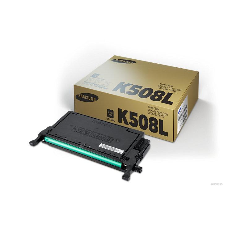 [미사용]삼성 CLT-K508L [검정/정품토너]